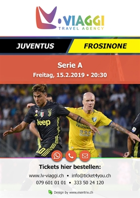 Serie A Juventus -Frosinone