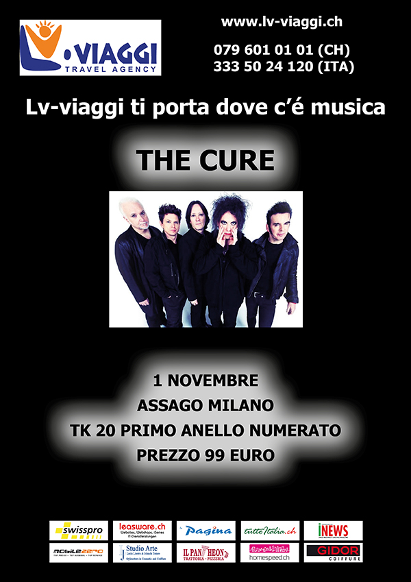 The Cure am 1.11.2016 LIVE in Assago (Italien)